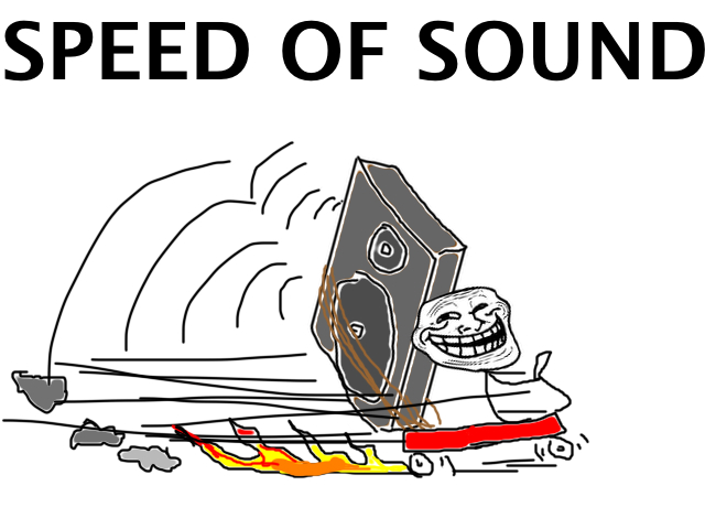Troll Science - Speed of Sound