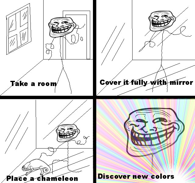 Troll science – Discover new colors