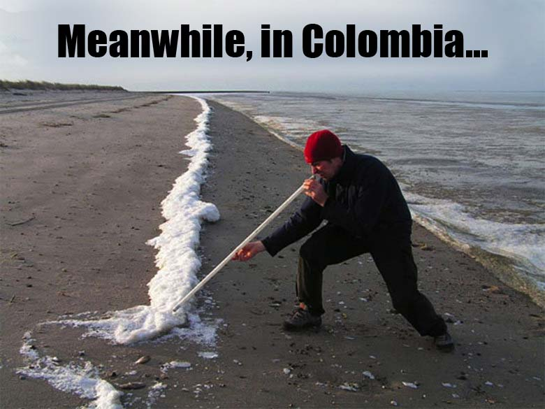 Funny picture-Meanwhile in Colombia