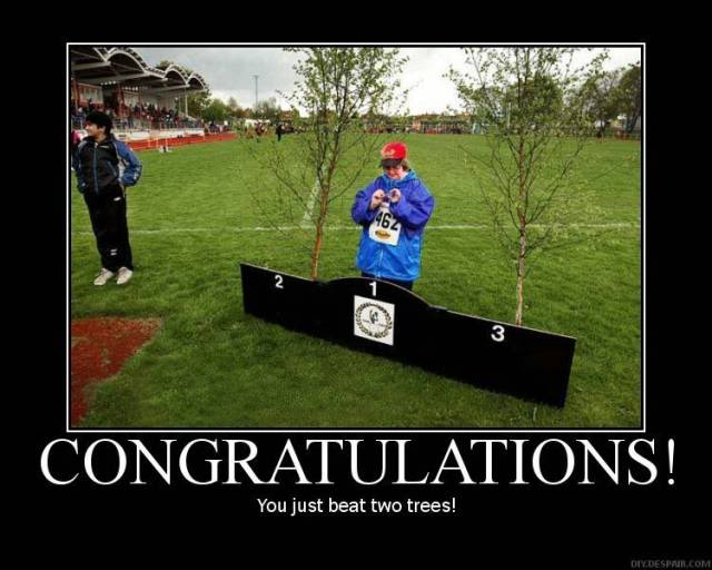 COBGRATULATION! You just beat two trees