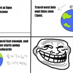 Travel to back in time &#8211; Troll Science, Troll Physics