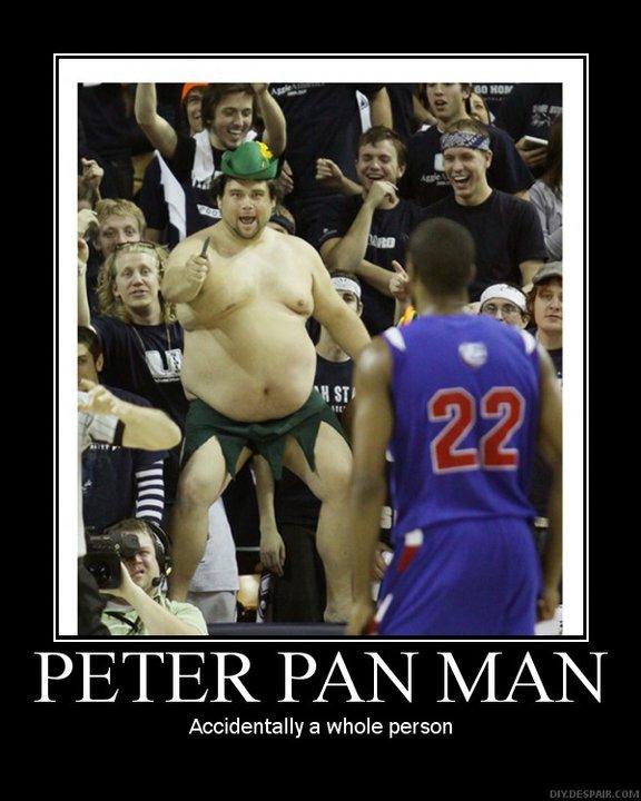 peter Pan man - Demotivator