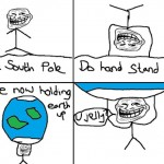 Hold the earth up – Troll Science – Troll physics