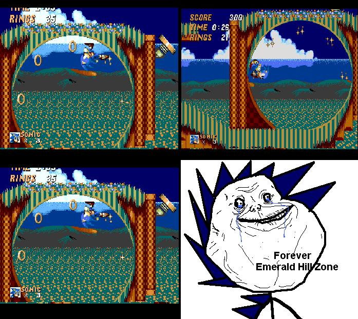 Forever Emeralds Hill Zone- Funny Picture