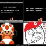 Thank you Mario &#8211; FFFUUU Rage comics
