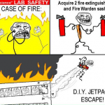 Troll Science Lab Safety &#8211; In case of Fire