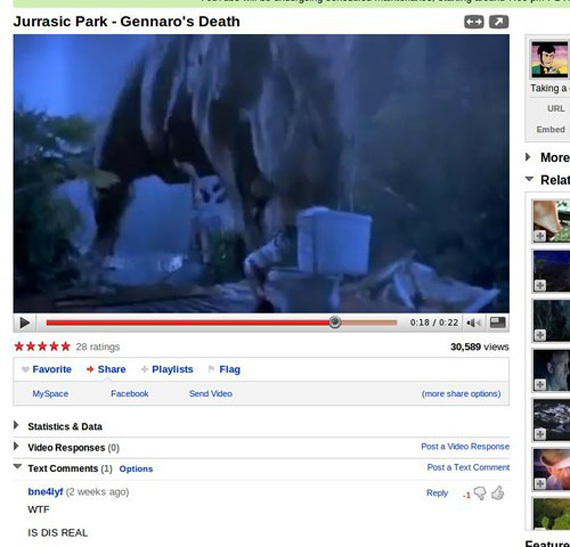 Jurrasic Park – WTF! Is dis real?