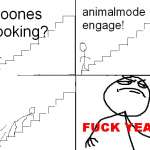 Animal mode engage! Fuck yea