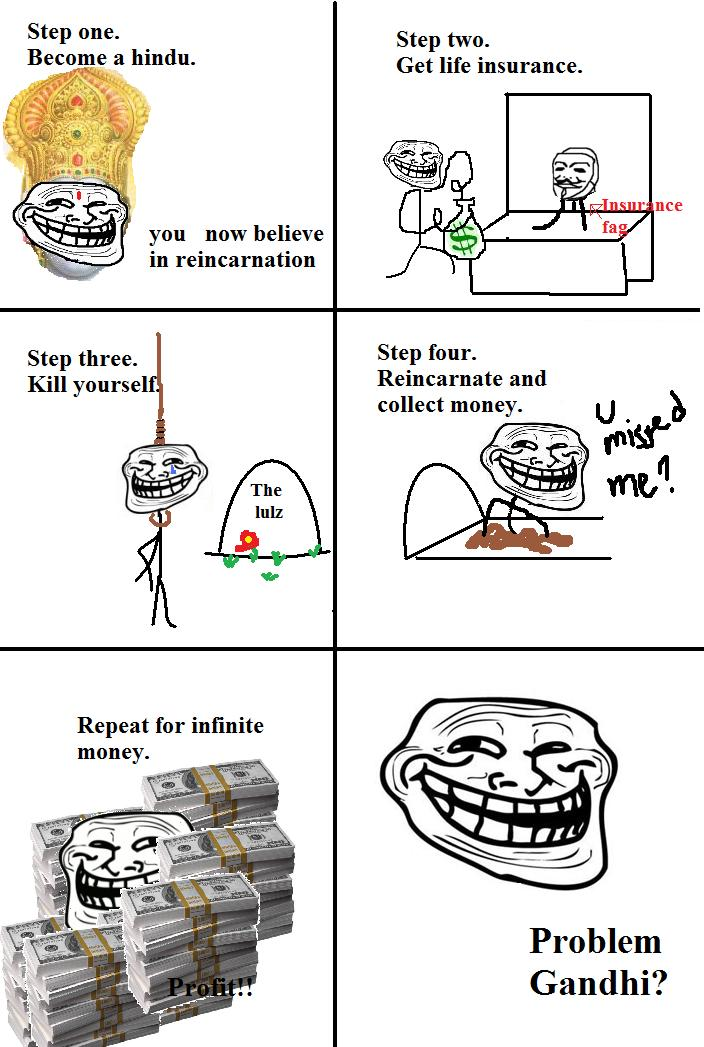 Problem Gandhi? Troll Science - Troll Physics