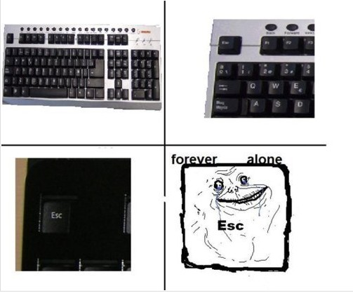 Funny Picture - Escape Forever Alone