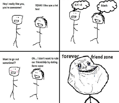 Forever Friend Zone - Forever Alone