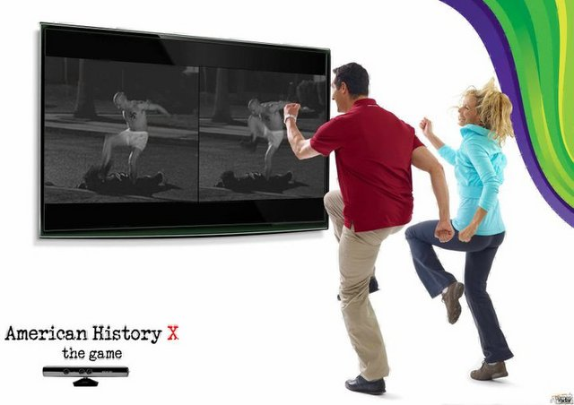 merican History X - The Game now on Kinect