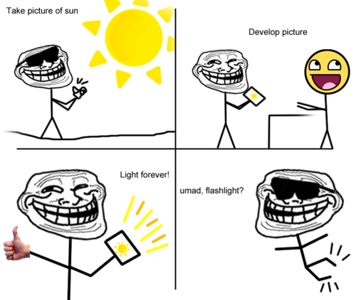 Forever Lighr - Troll Science - Troll Physics
