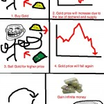Make money with gold – Problem Wall Street? Troll Science