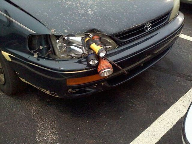 Car headlight problem? I fixed it