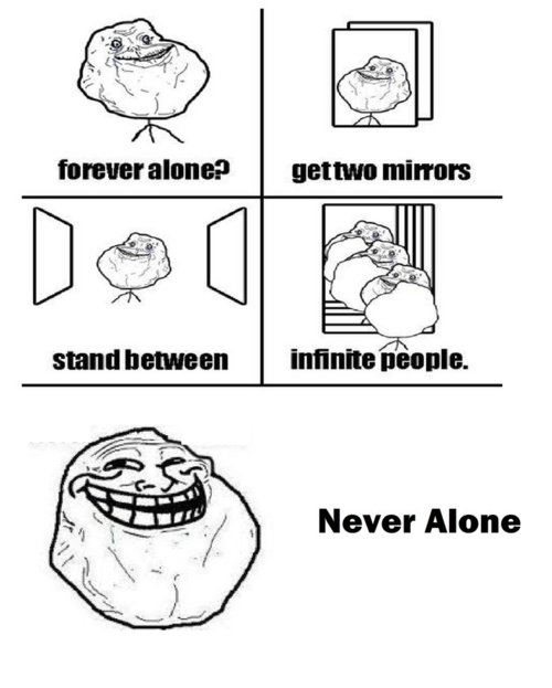 Infinte people - Never Alone