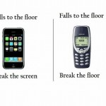 Difference between iphone and 3310